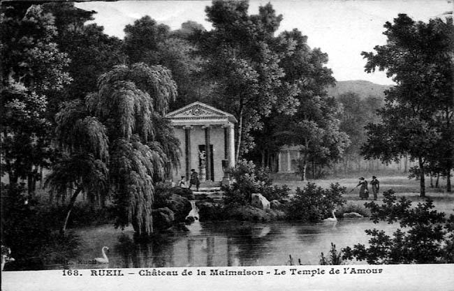 Cartes postales anciennes de parcs fabriques la malmaison - Parc de la malmaison ...